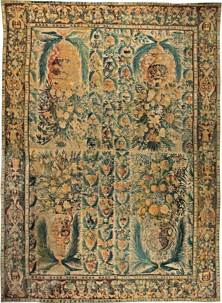 Antique Tapestry Rug Bb5773 By Dlb