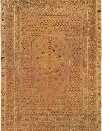 Antique Turkish Ghiordes Rug BB0738