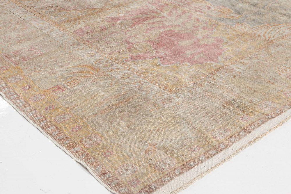 Antique Silk Hereke Rug BB6455