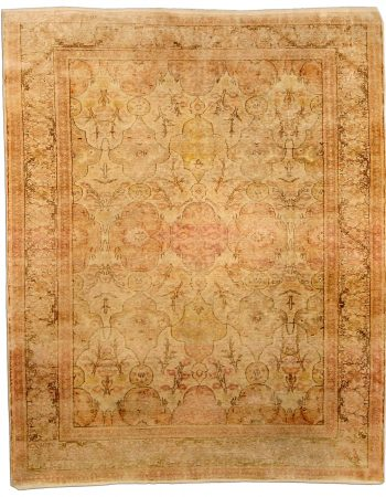 Antique Turkish Hereke Carpet BB4351