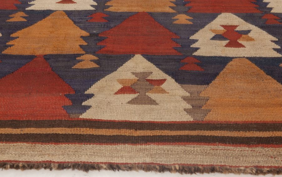 Vintage Etno Turkish Kilim Rug BB6516