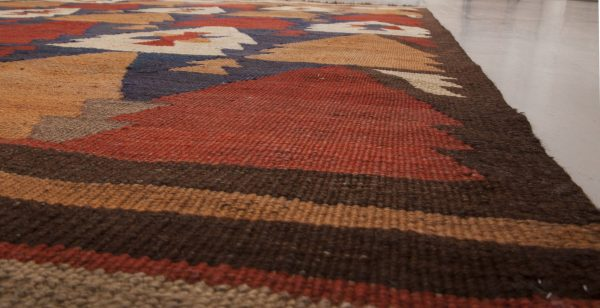 Vintage Etno Turkish Kilim Rug BB6516