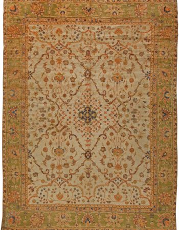 Antique Turkish Oushak Rug BB5666