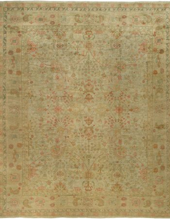 Antique Turkish Oushak Rug BB2384