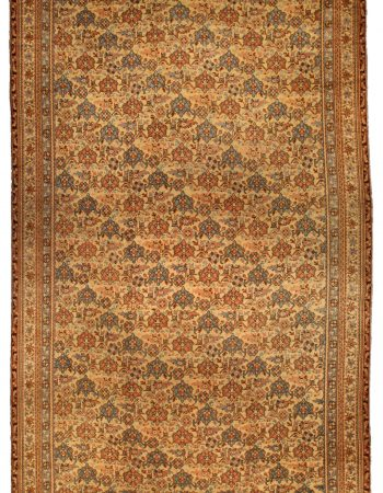 Antique Turkish Oushak Carpet BB2476