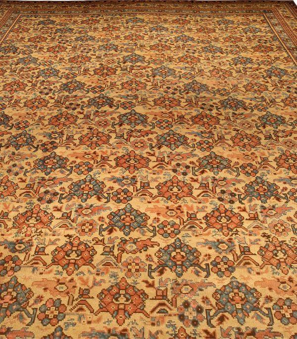 Antique Turkish Oushak Carpet BB2476