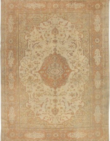 Antique Turkish Oushak Rug BB4359