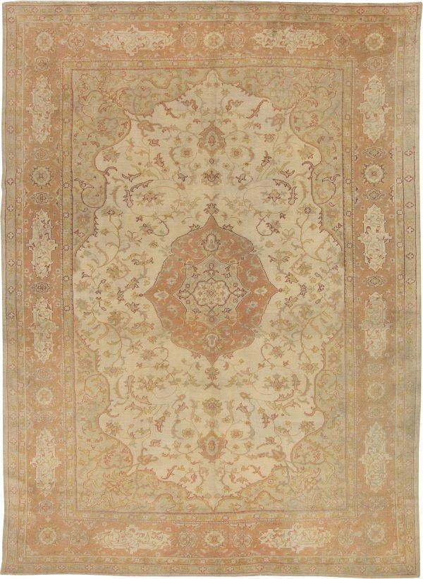 Antique Turkish Oushak Rug BB4359