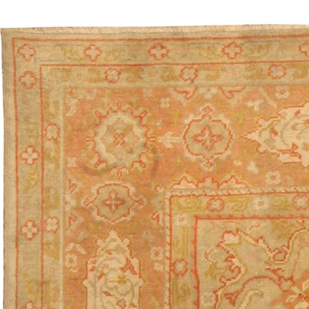 Antique Vintage Turkish Rugs: Antique Turkish Oushak Rug BB4359 By Doris Leslie Blau