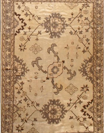 Antique Turkish Oushak Rug BB2688