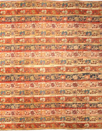 Antique Turkish Oushak Rug BB4773