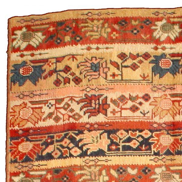 Antique Turkish Oushak Rug BB4773