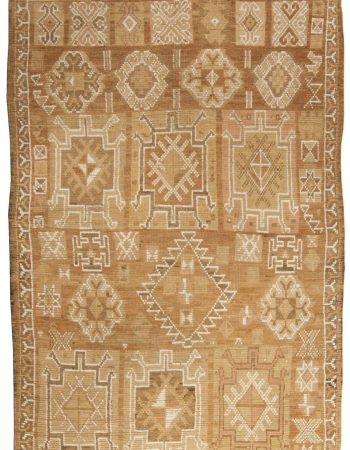 Antique Turkish Oushak Rug BB4999