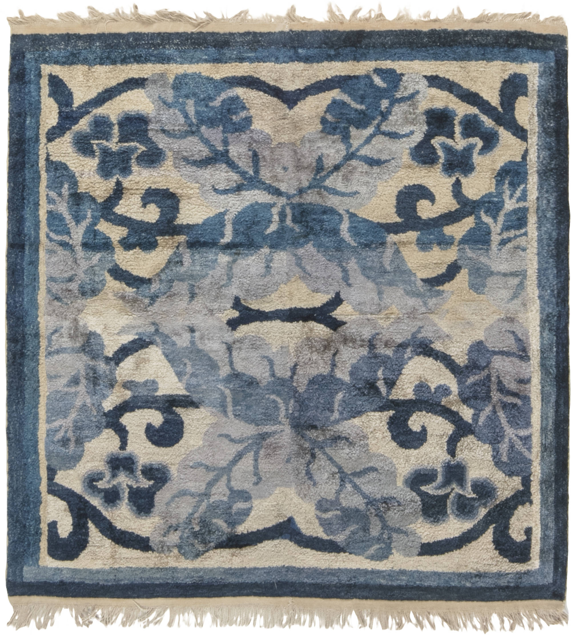 Antique Chinese Rug: Antique Chinese (fragment) BB6507 By Doris Leslie Blau