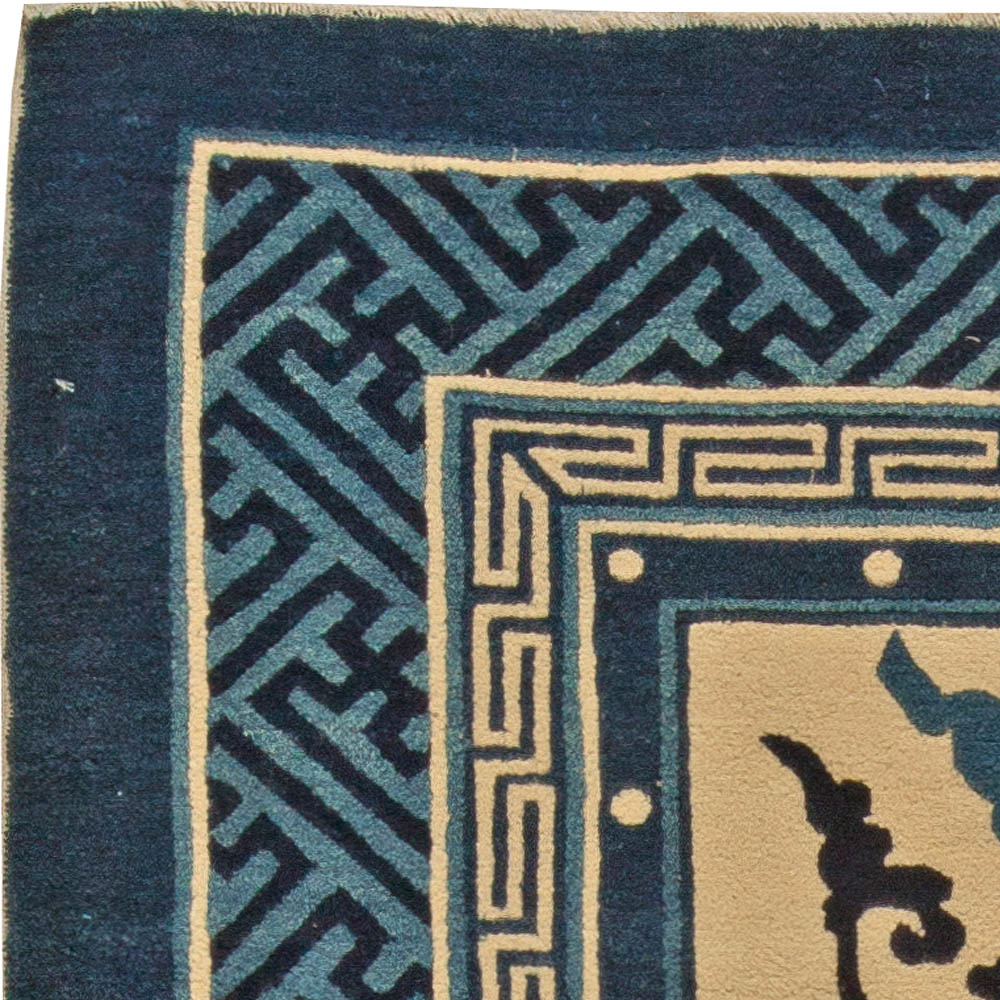 Antique Chinese Rug: Antique Chinese Rug BB5493 By Doris Leslie Blau