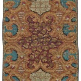 Antique European Fragment Rug BB5495