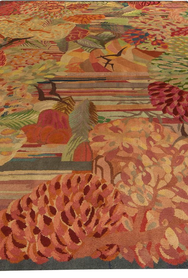 Vintage French deco Rug BB6144