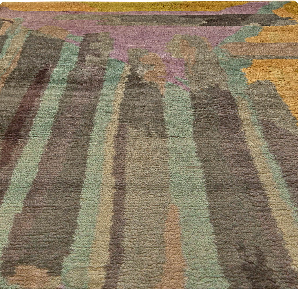 French Vintage Rug BB5998