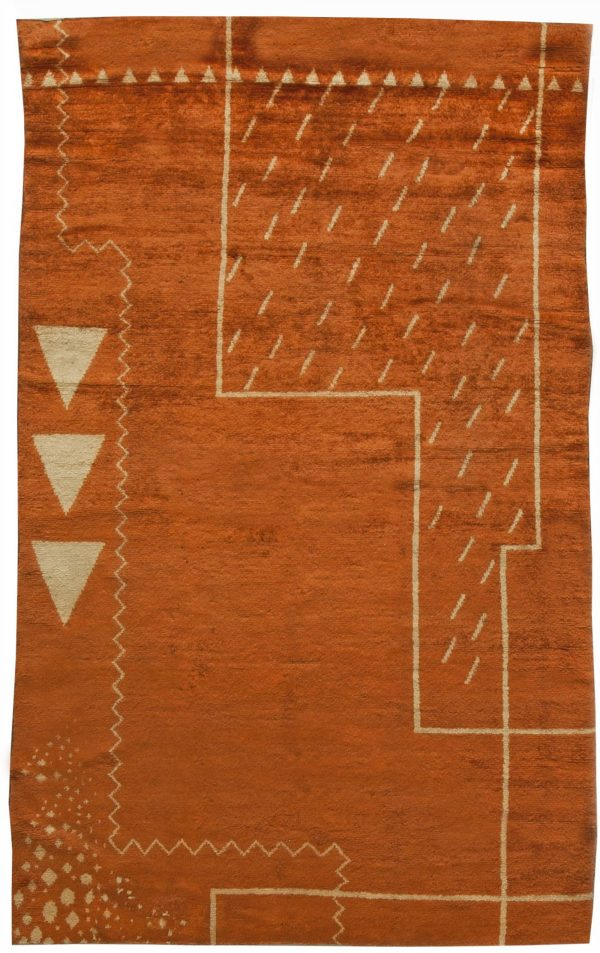 Vintage French Art Deco Rug BB6069