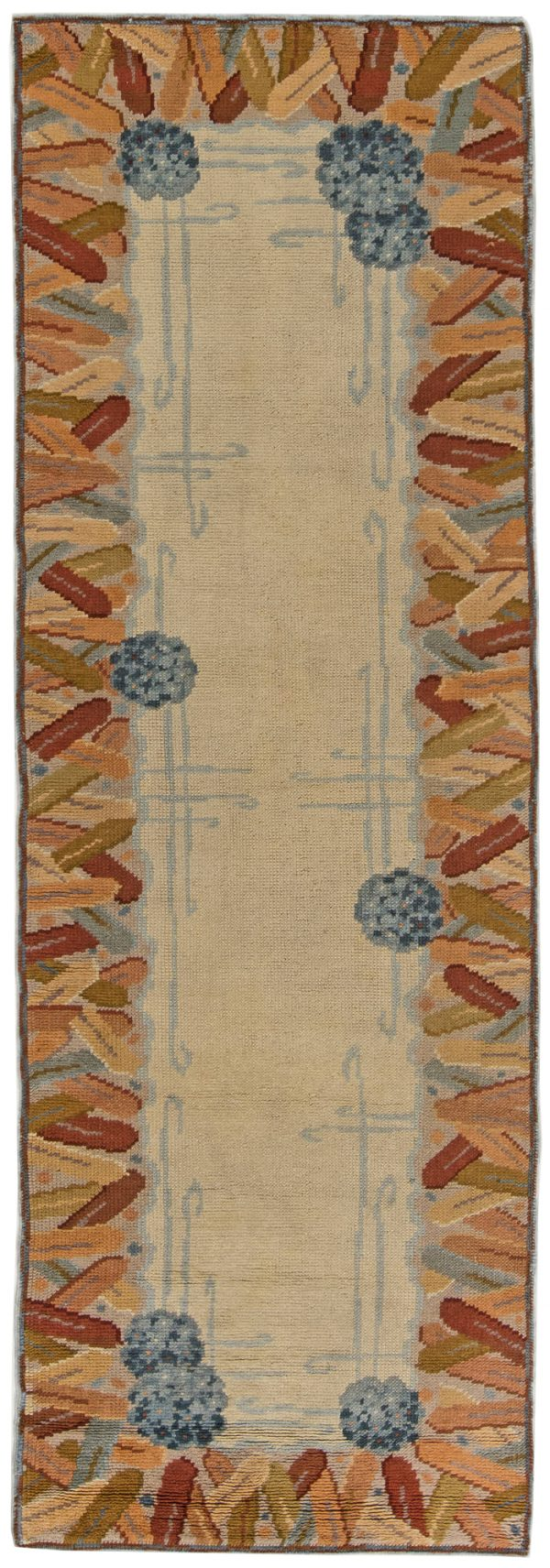Vintage Art Deco Rug BB6265