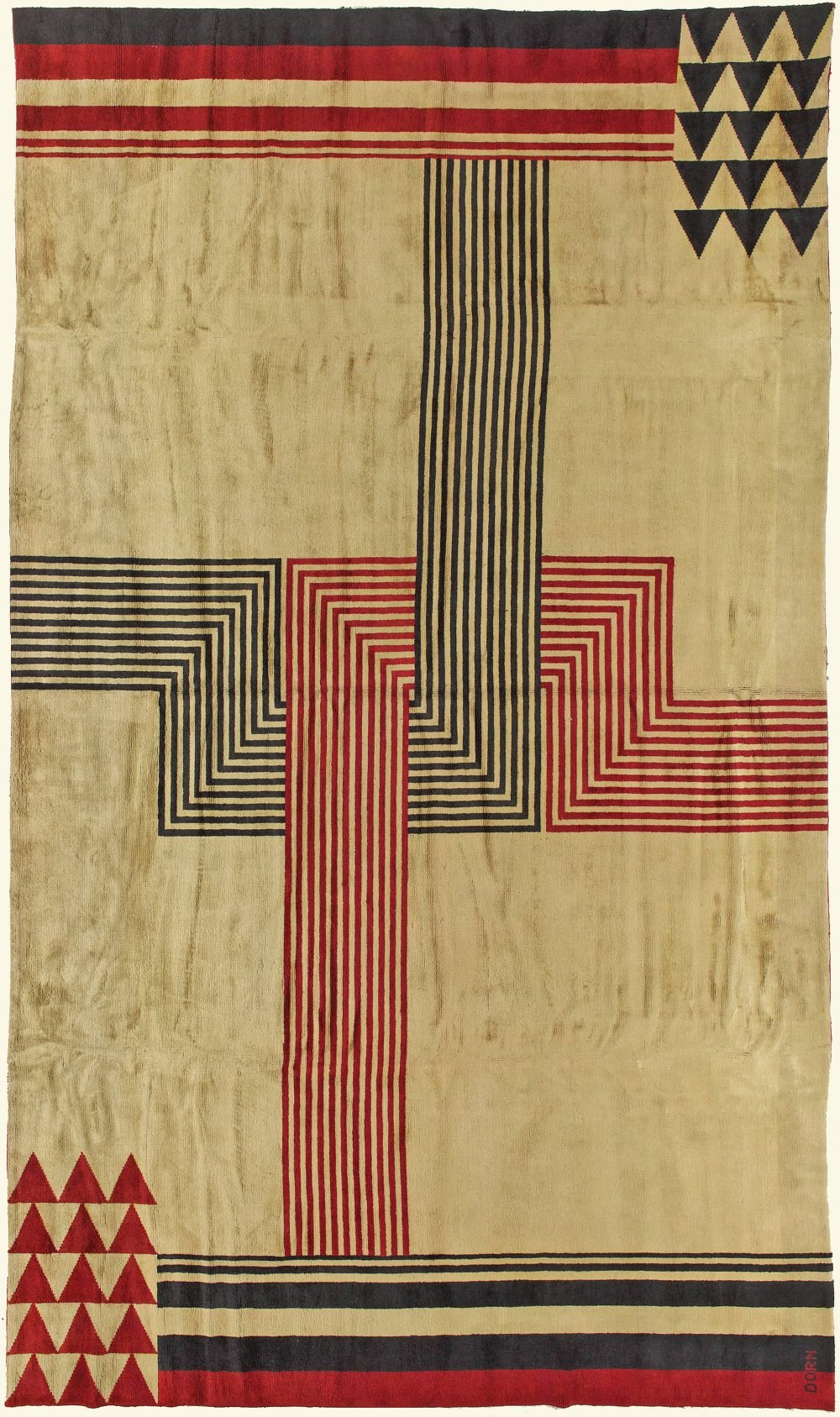French Deco Rug by Marion Dorn BB6042