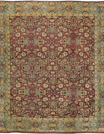 Antiguidade indiana Agra Rug BB5599