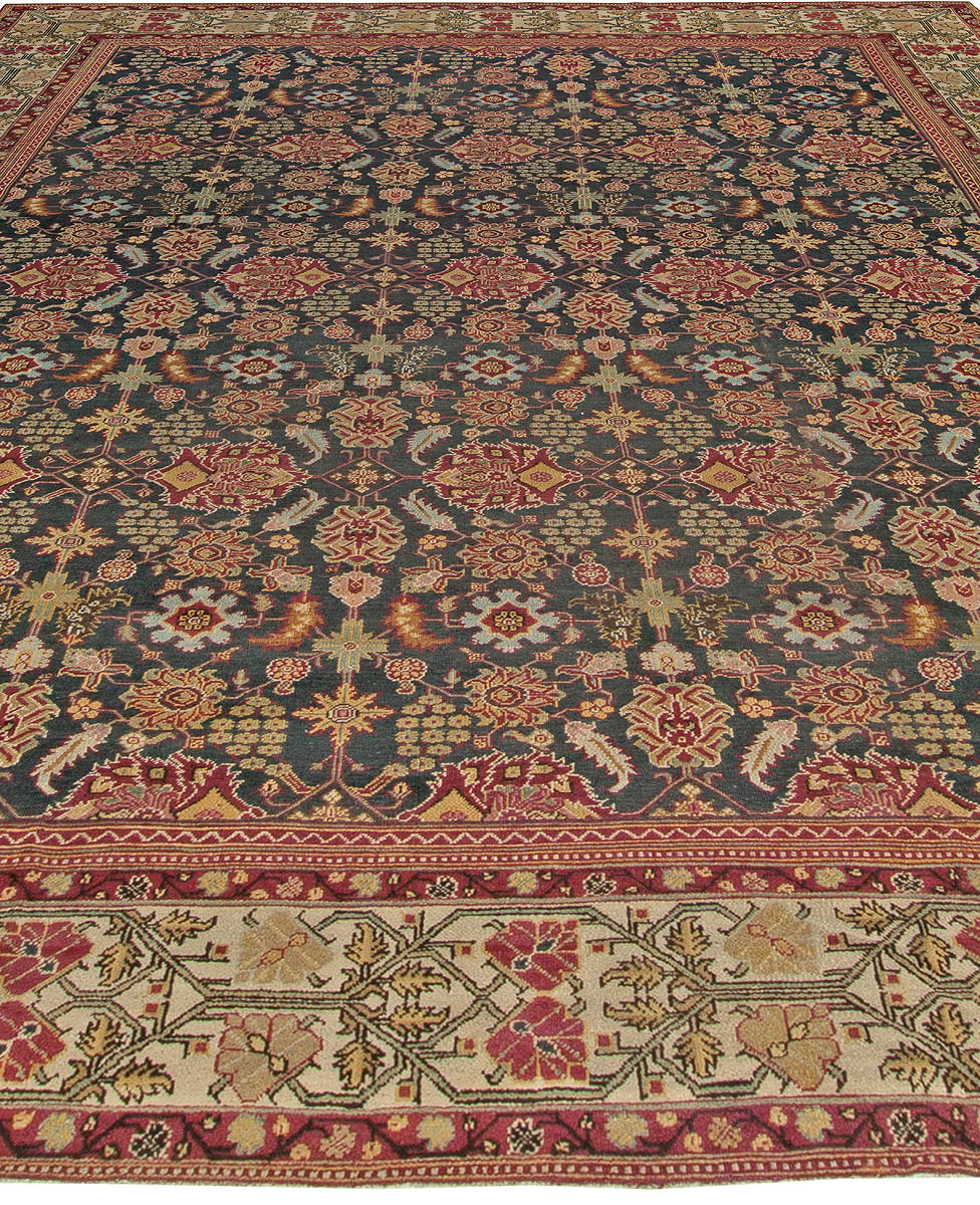 Arts And Crafts Rugs With Exciting Indian Agra Rug Design: Antique Indian Amritsar Rug BB5564 By Doris Leslie Blau