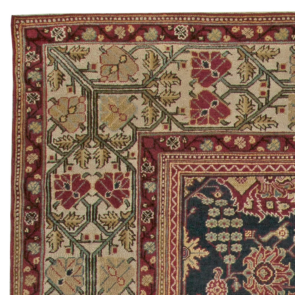Antique Indian Rugs: Antique Indian Amritsar Rug BB5564 By Doris Leslie Blau