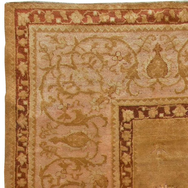 Antique Indian Amritsar Rug BB5570