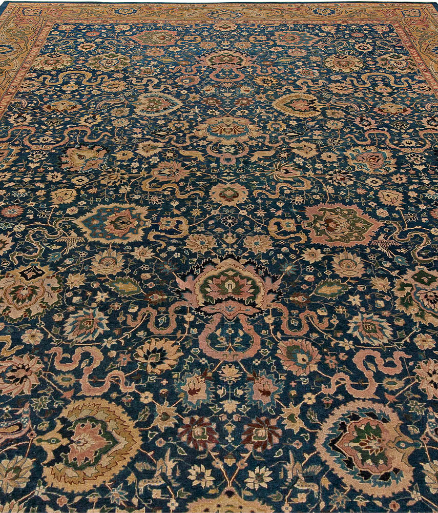 Arts And Crafts Rugs With Exciting Indian Agra Rug Design: Antique Indian Carpet BB5534 By Doris Leslie Blau