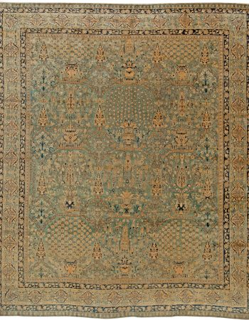Oversized Antique Spanish Savonnerie Rug BB1323