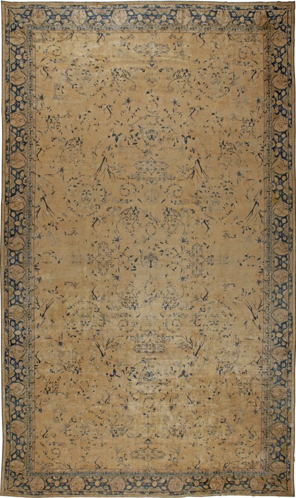 Extra Large Antique North Indian Rug BB5425