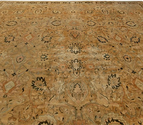 Oversized Vintage Indian Rug BB6090