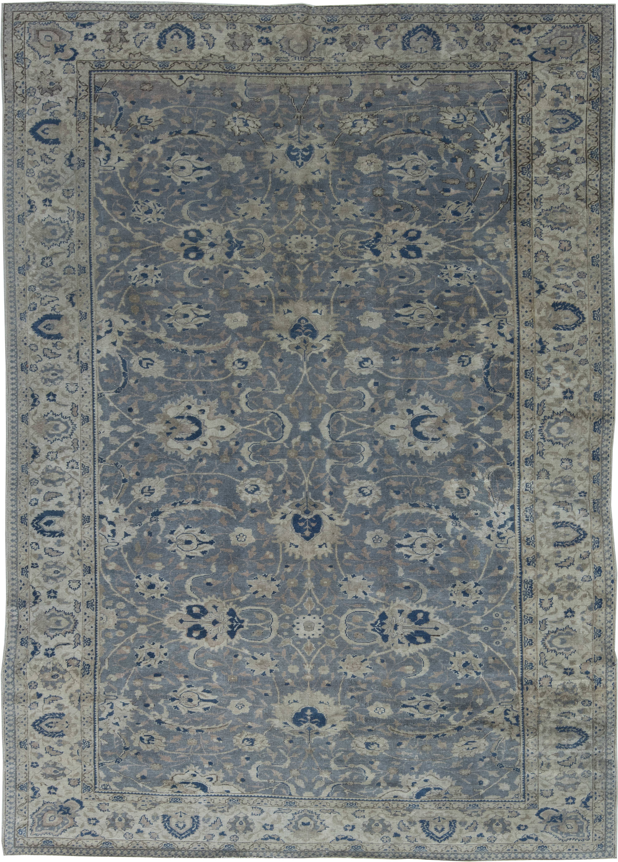 Antique Turkish Hereke Rug BB6405