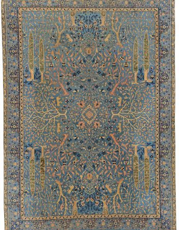 Antique india Alfombra BB5490