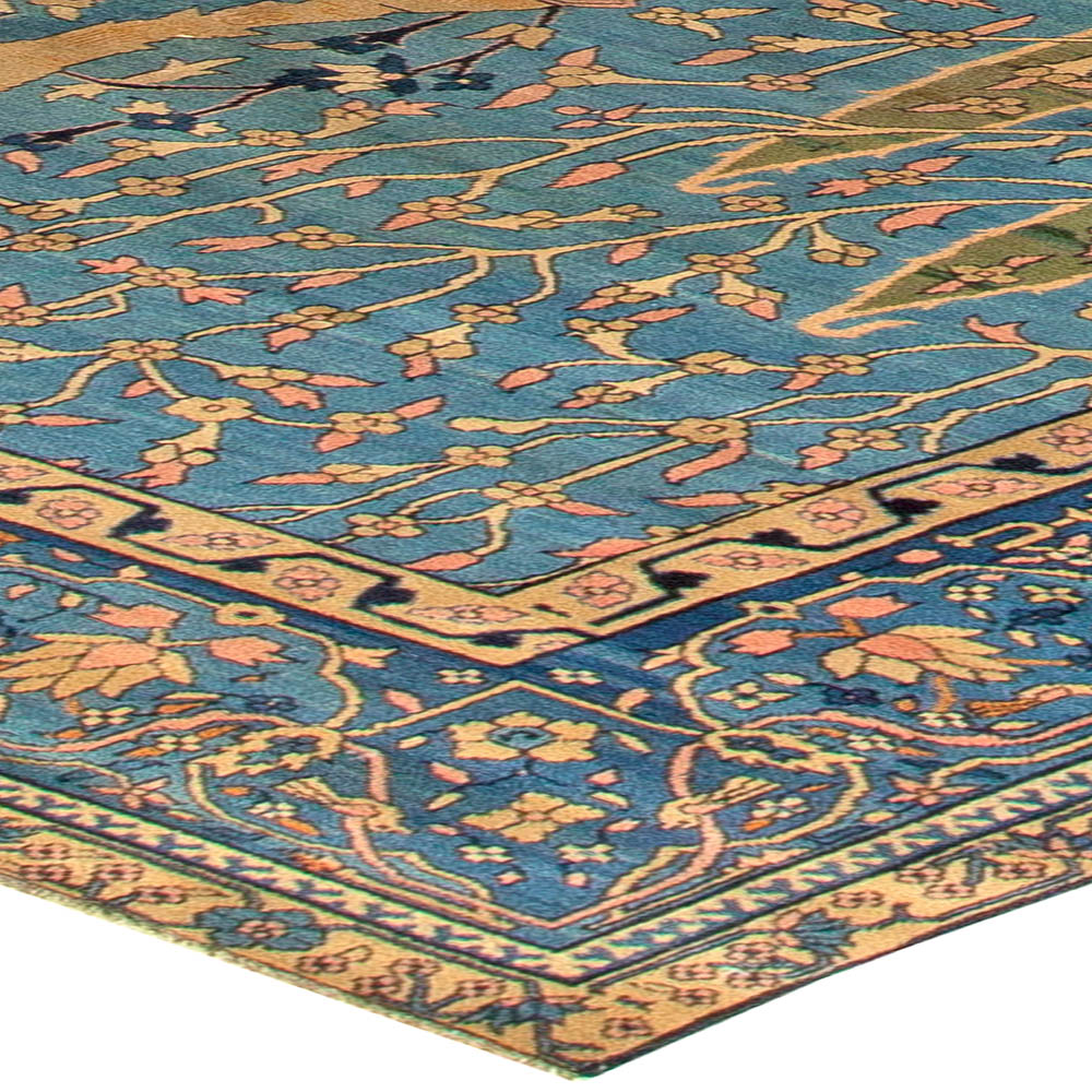 Antique Indian Rugs: Antique Indian Rug BB5490 By Doris Leslie Blau