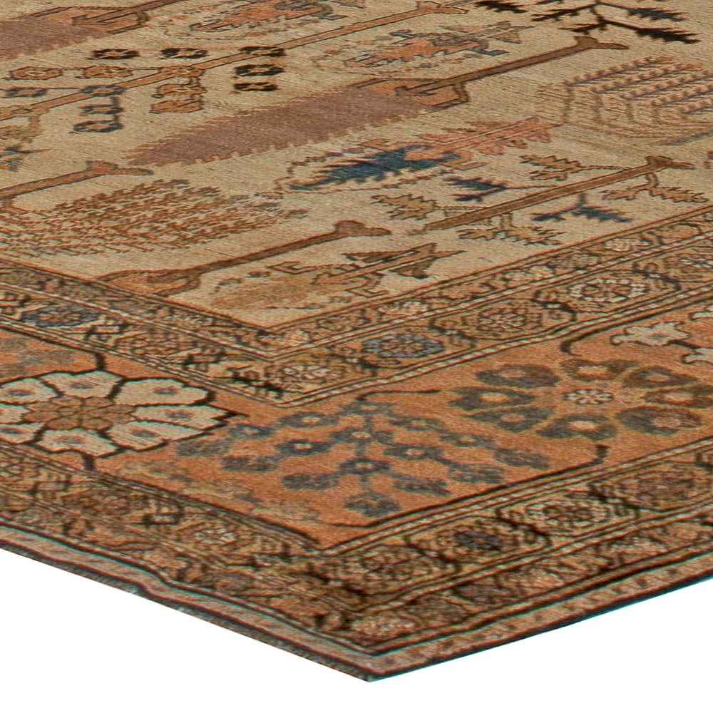 Antique Large Rug: Large Antique Persian Bakhtiari Rug BB5582 By Doris Leslie