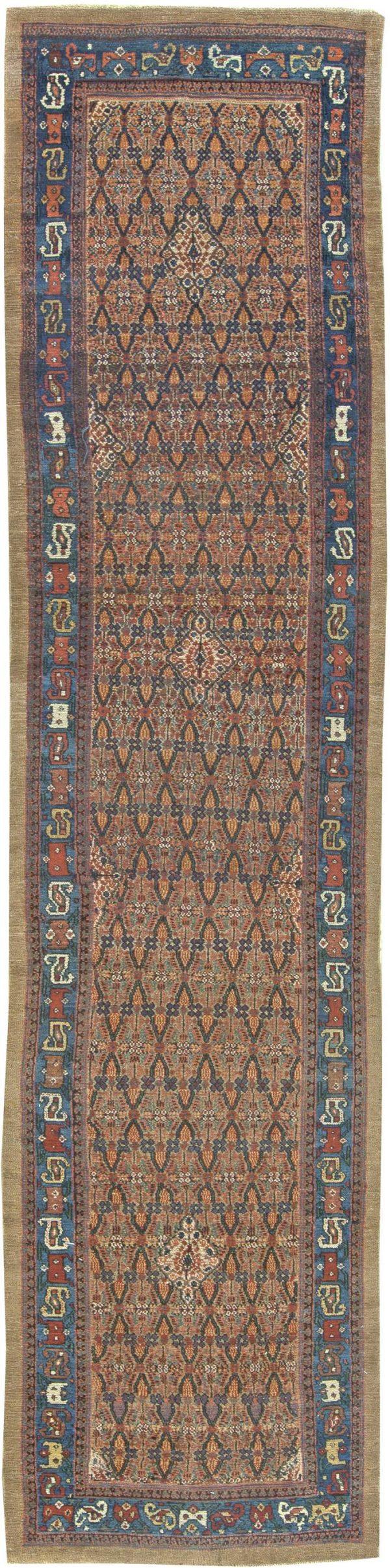 Antique Persian Hamadan Rug BB5978