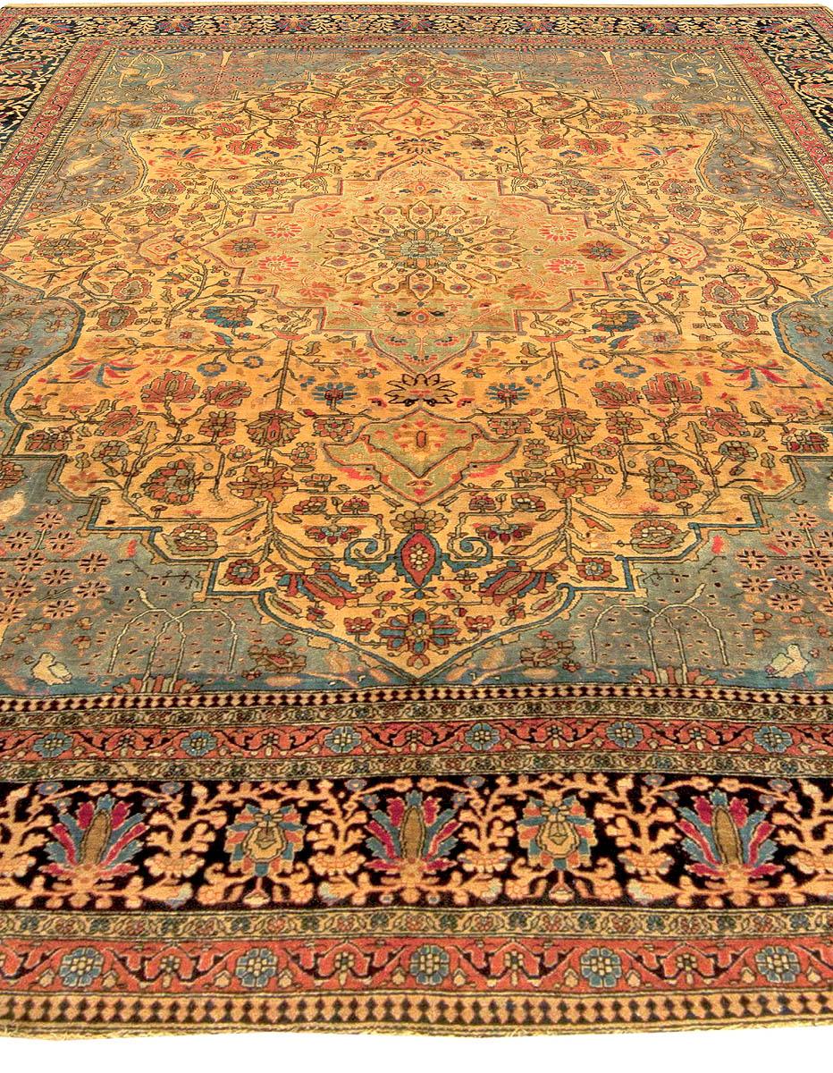 Persian Mohtashem Kashan Rug BB5962