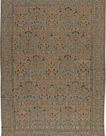 Antique Persian Kirman Carpet BB5568