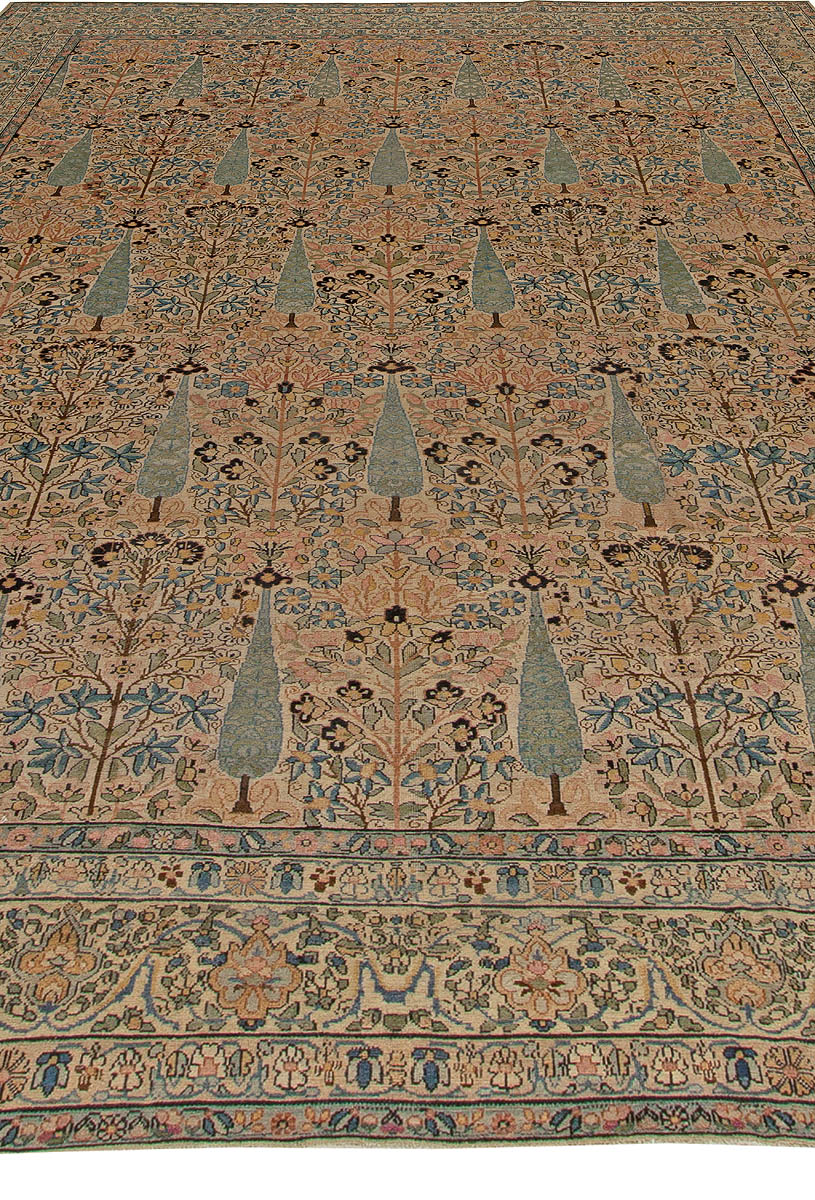 Antique Persian Kirman Carpet Bb5568 By Doris Leslie Blau