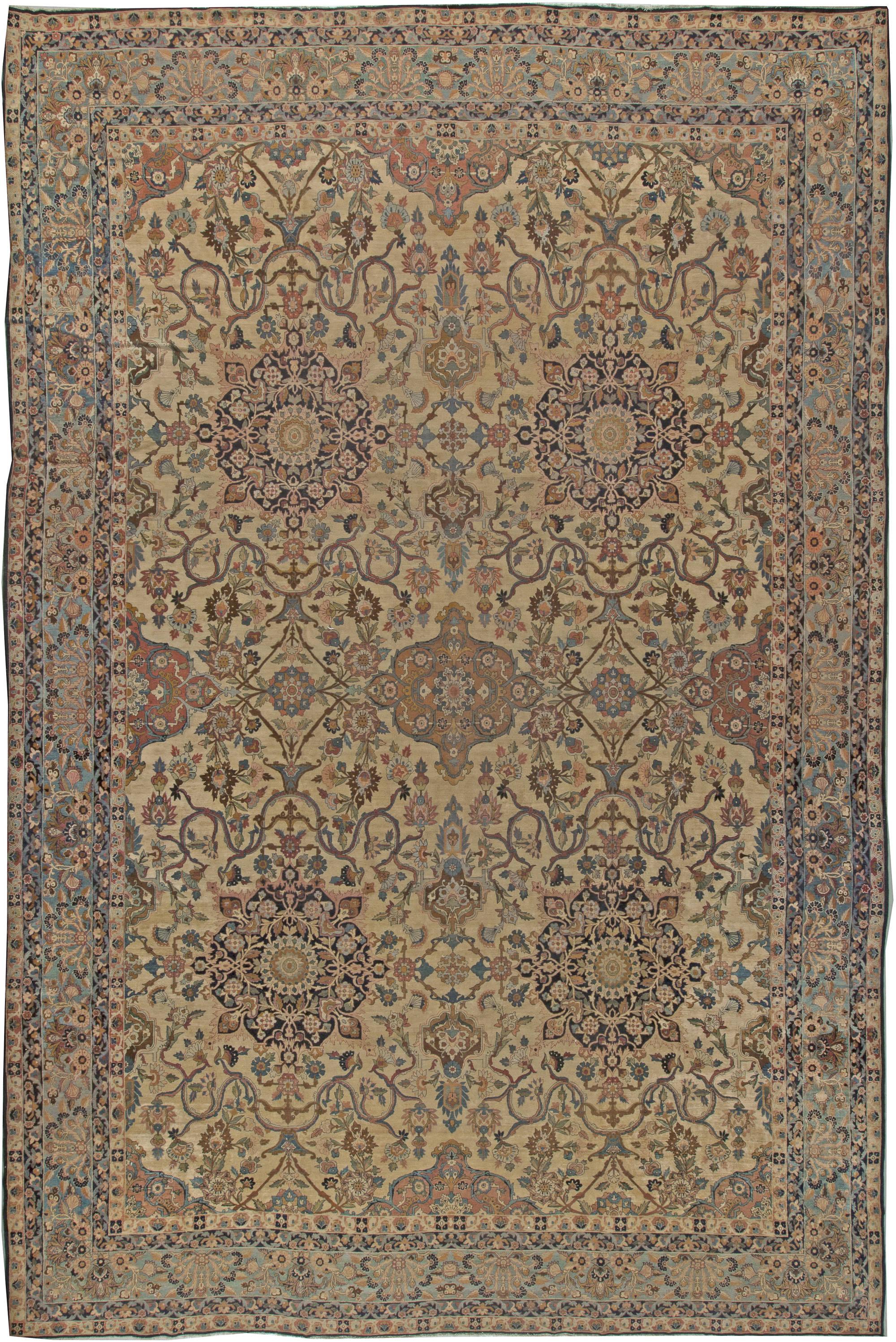 Vintage Persian Kirman Rug BB5550