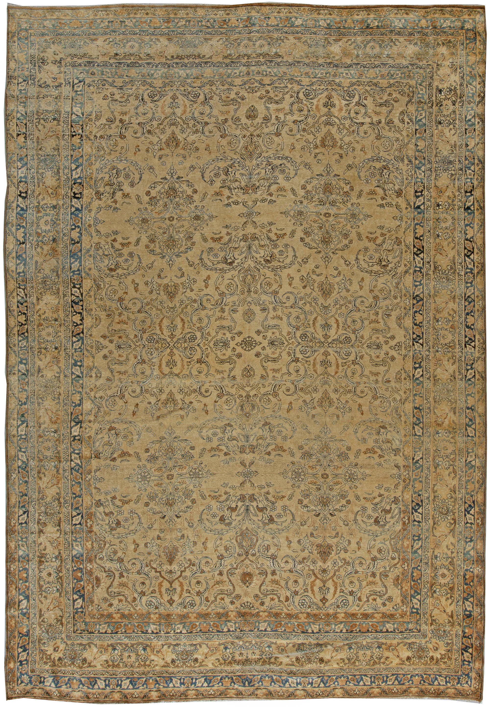 Antique Persian Kirman Carpet BB5551