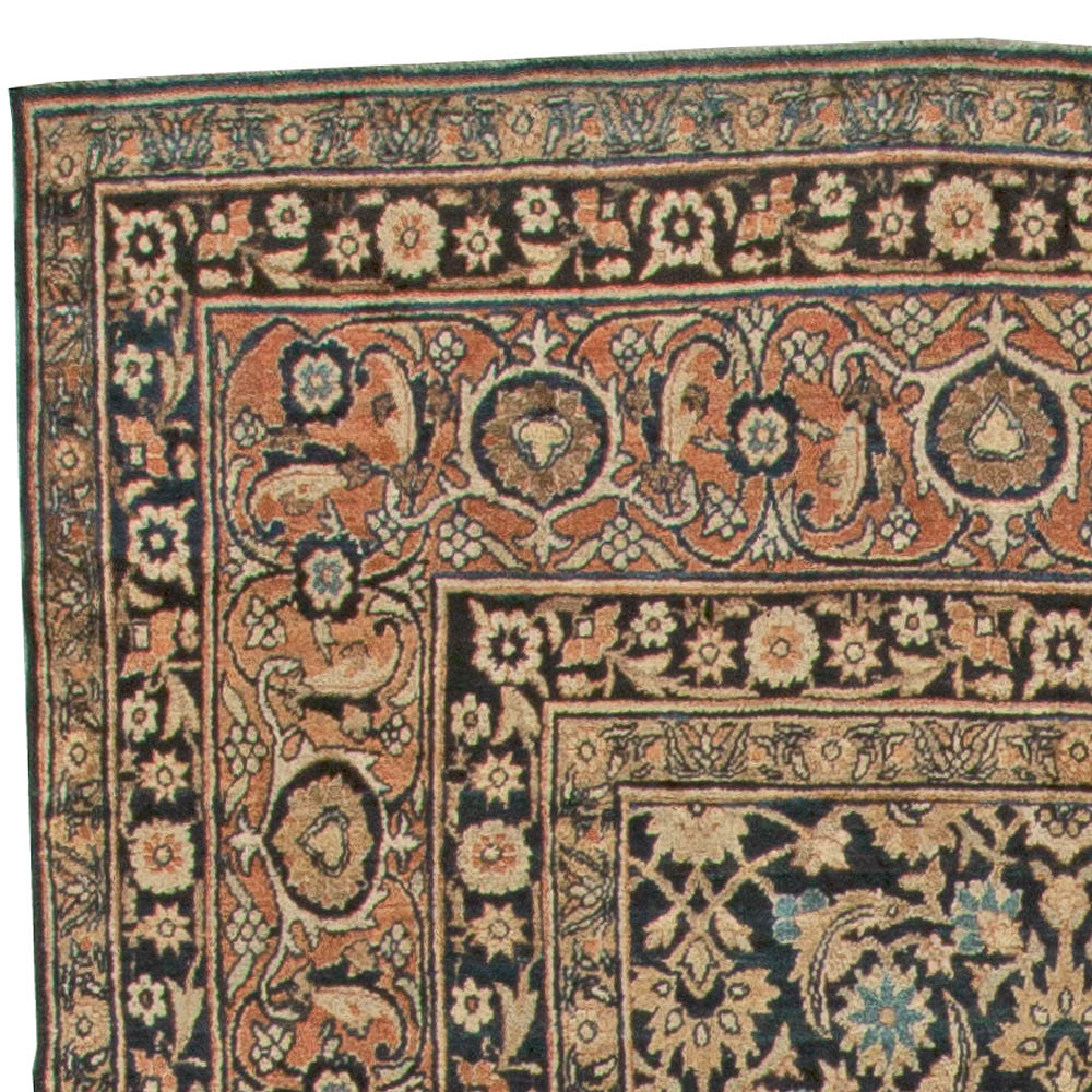 Vintage Persian Kirman Carpet BB5559
