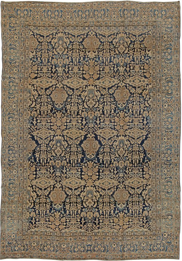 Antique Persian Kirman Carpet BB5569