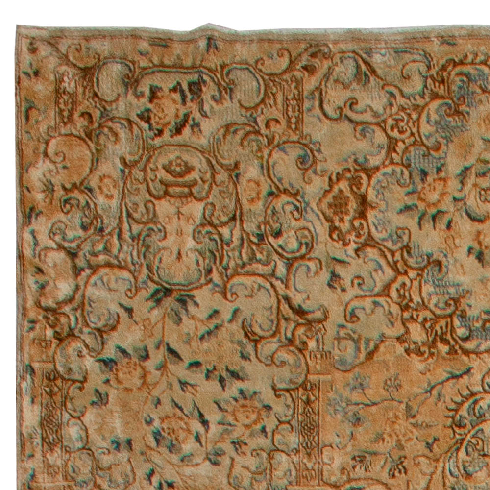Antique Persian Kirman Rug BB5577