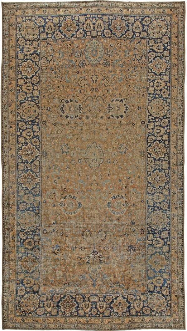 Antique Persian Kirman Carpet (size adjusted)BB5585 BB5585
