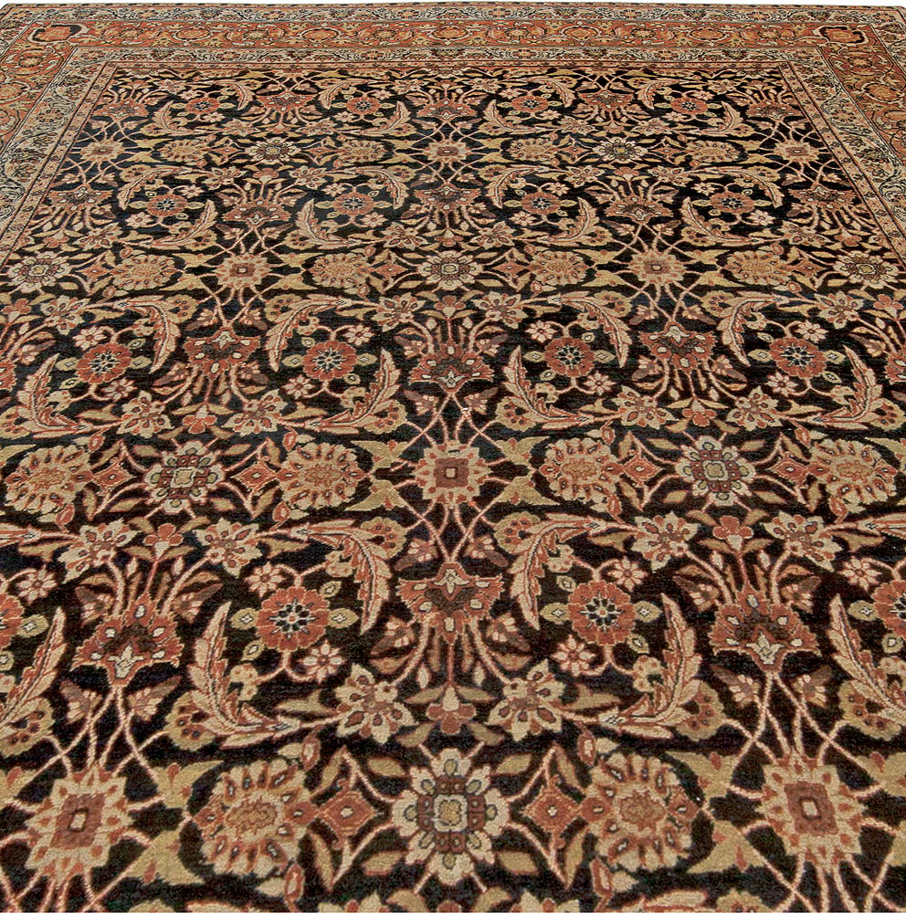 Antique Persian Kirman Rug BB5571