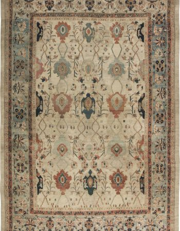 Antique Persian Malayer Rug BB6509