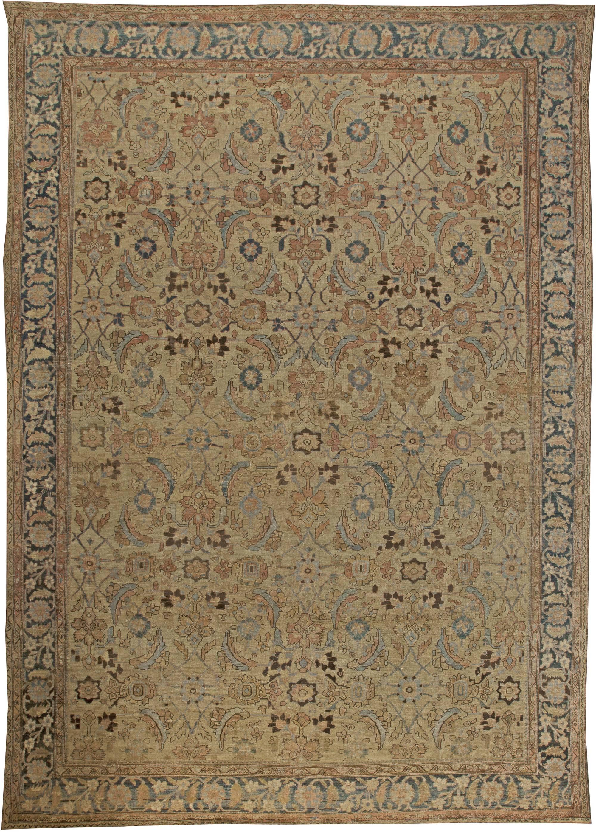 Antique Persian Malayer Rug Bb5996 By Doris Leslie Blau